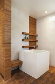 Soaker Tub With Shower Bathrooms Simple Idea For Decorating Square Japanese Soaking Tub