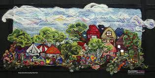 11-16PHour town | Art, Fiber art, Painting