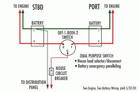 boat dual battery wiring diagram wiring diagram simonand dual battery isolator wiring diagram at Dual Battery Wiring Diagram