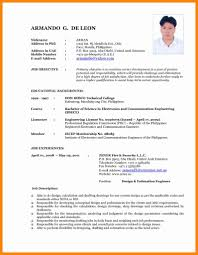 New Format For Resume 24 Luxury Typical Resume Format Resume Writing Tips Resume 5
