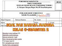 Try the suggestions below or type a new query above. Soal Pas Bahasa Madura Kelas 5 Semester 2 Dan Kunci Jawaban Pendidikanterkini