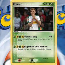Christoph kramer, 30, from germany borussia mönchengladbach, since 2016 defensive midfield market value: Pokemon Kartensammlung Von Christoph Kramer Unfassbarer Wert News