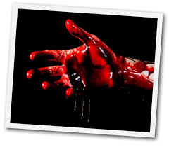 Image result for jesus bleeding on the cross