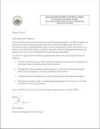 Essa Parents Right To Request Teacher Qualifications