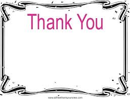 Thank You Black And White Printable Thank You Stationery Template Salabs Pro