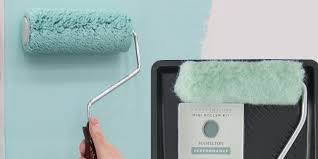 framing effect with a paint roller