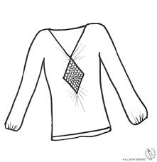Maglietta Bambini Disegno Colorare Di Da Per Tshcqrxd