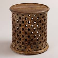 African Drum Coffee Table Tibetan Cloud Ceramic Drum Stool Ceramics Ceramic Stool And