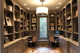 office for home. home office decorating transitional with built in cabinets shelves for