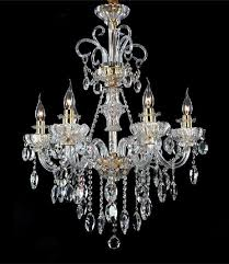 italy style restaurant crystal chandelier 6 lights modern candle led chandeliers coffee chandelier dining room kids light in chandeliers from lights