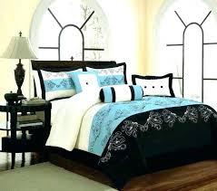peaceful design ideas blue black and white comforter sets scheme royal bedding set home elegant green