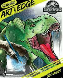 Not even the lego people knew it. Crayola Art With Edge Jurassic World Dinosaurs 30 Pages Coloring Book 8x10 For Sale Online Ebay