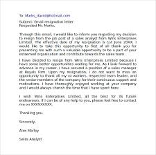 Letter Format Templates Sample Resignation Letter Format 100 Download Free Documents in PDF 96