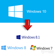 How To Downgrade From Windows 10 To 7 8 8 1 Update August 2017