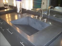 polished concrete countertops edge
