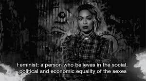 read beyoncé    s essay on gender equality   stylecastermore  beyoncé    s chic new sweatshirt line