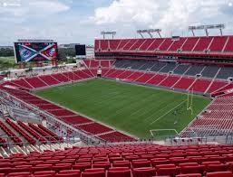 Raymond James Stadium Section 342 Seat Views Seatgeek