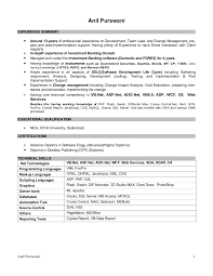 Technical architect resume india
