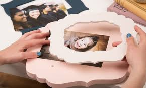 Design your own picture frame Photo Frame Design Your Own Changeable Magnetic Wood Picture Frame Groupon Changeable Wood Picture Frames Thistle Poppy Groupon
