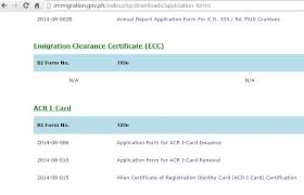 Requirements For An Ecc Exit Clearance Certificate Philippines