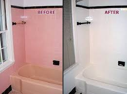 it is very cost effective and time saving to refinish a tub and achieve the clean fresh updated look your bathroom needs