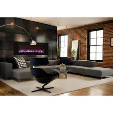 regal flame astoria 60 inch built in ventless heater recessed wall mounted electric fireplace multi color