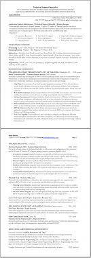 technical support specialist resume great resume templates click on image to enlarge