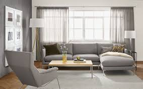 modern grey modular furniture. View In Gallery Sofa With Chaise From Room \u0026 Board Modern Grey Modular Furniture R