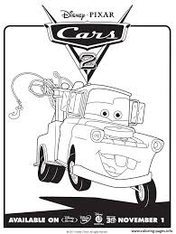 Lightning Mcqueen Cars 2 Coloring Pages Printable At To Print