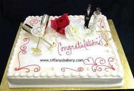 Engagement Cakes Tiffanys Bakery