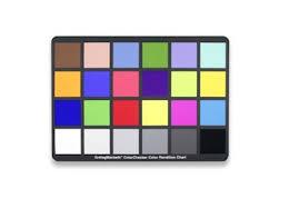 Macbeth Colour Chartproduction Hire Cameraworks Camera Hire