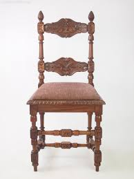 pair antique walnut chairs with acorn finials antique armchairs occasional chairs stools