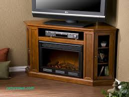 convertible electric corner fireplace tv stand in mahogany