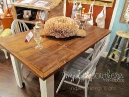 Custom Built Farm House Tables 400 For 5x3 Table Simply Southern Marketplace Murfreesboro Tn