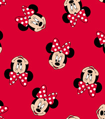 Minnie Mouse Pattern Simple Decorating Ideas