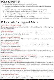Prima Games Pokemon Go Guide Extensive My Pokemon Go Blog