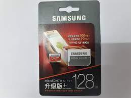 Thẻ Nhớ Micro SDXC Samsung Evo Plus 128GB U3 100MB/s kèm Adapter (Box Hoa)  - Hàng nhập khẩu - Thẻ nhớ điện thoại