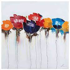 Since the multitude of possibilities is endless. Yosemite Home Decor Jeweled Poppies I Canvas Wall Art Bed Bath Beyond