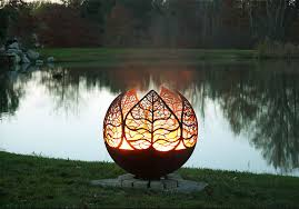 view in gallery autumn leaf fire pit sphere melissa crisp jpg autumn leaf fire pit sphere melissa crisp jpg