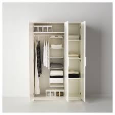Ikea Brimnes White 3 Door Wardrobe