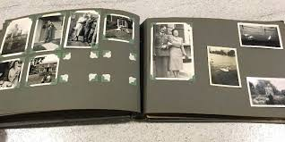 Family Photo Albums Handling Family Photos From Black Page Albums Familytree Com