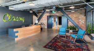 San diego office interiors Classy Spaces We Love Classys Cuttingedge Office Pinterest Spaces We Love Classys Cuttingedge Office Hughes Marino San Diego