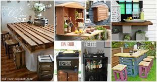 Diy Garden 30 Creative Diy Wine Bars For Your Home And Garden