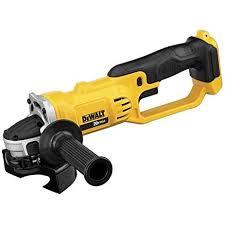 dewalt cordless grinder. dewalt dcg412b 20v max* lithium ion 4-1/2\u201d grinder (tool cordless s