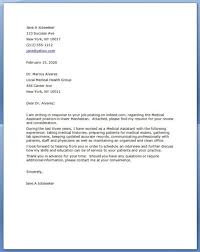 Cover Letters For Medical Assistants Gorgeous Cover Letter Medical