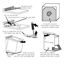 kenmore 80 series washer. dismantling kenmore 80 series washer