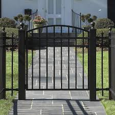 wrought iron fence gate. Delighful Gate Iron Fence Wrought Iron Fence Gate Throughout