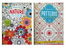 coloring in patterns 2. Brilliant Coloring Set Of 2 Designer Series Nature To Color U0026 Patterns Adult Coloring  Books And In I