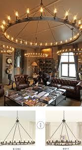 restoration hardware lighting knockoffs. restoration hardware camino vintage candelabra chandelier lighting knockoffs