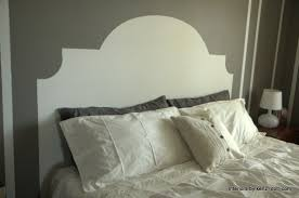 HOW TO PAINT A HEADBOARD ON THE WALL - PAINTED HEADBOARD ON THE WALL